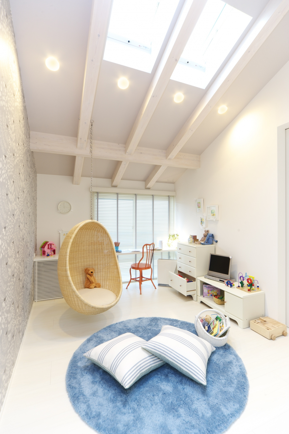 成長に合わせて自由に使える子供部屋